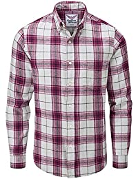 bc21ab7060 Charles Wilson Camisa Franela de Cuadros Manga Larga para Hombre