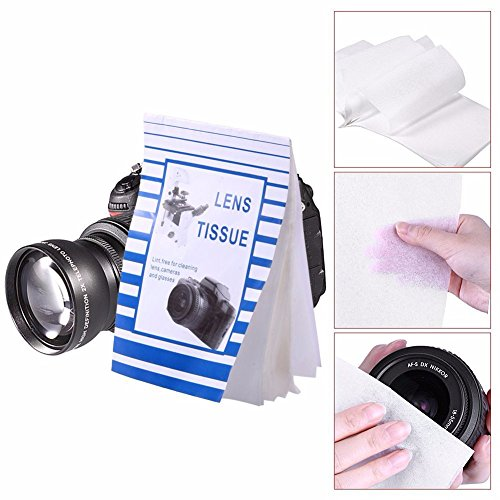 SIGARAM Lens Cleaning Paper for Lenses, Camera, Camcorders