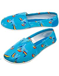 My little poney rainbow all over slip-on chaussures