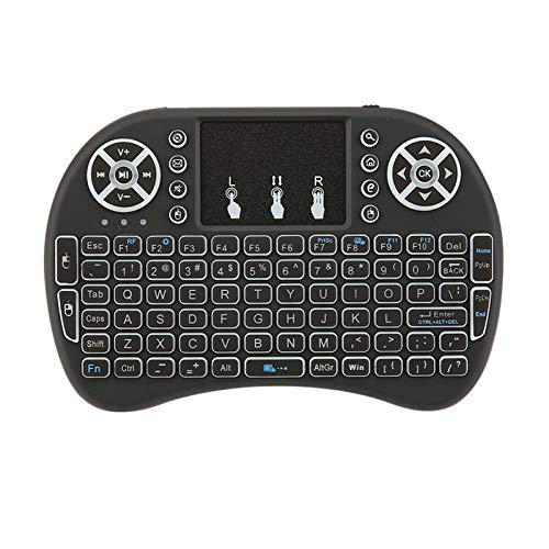OurLeeme Air Mouse Remote Control Keyboard 2.4 GHz Touchpad USB Mini-Tastatur kabellos für Android TV Box Mini PC