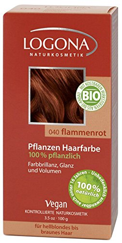 Pflanzen-Haarfarbe flammenrot (100 g)
