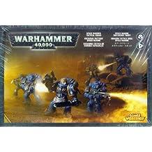 Games Workshop 99120101025 Warhammer 40.000 - Figuras de escuadra táctica de Space Marine