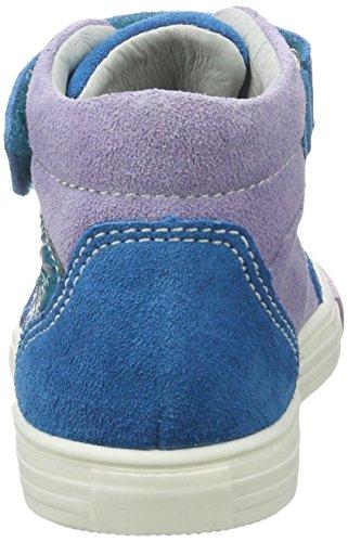 Richter Kinderschuhe Fedora, Sneakers basses fille Blau (caribic/thistle)