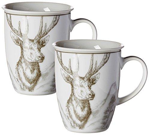 Ritzenhoff & Breker 092189 Vaisselle Porcelaine, Gris, 9 x 9 x 10 cm