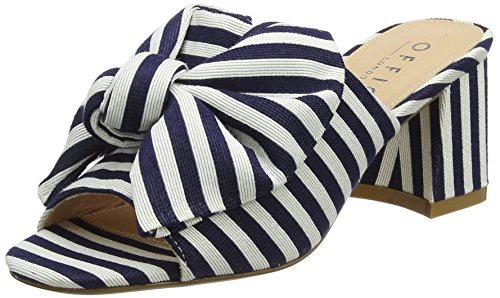 Office Mimi, Sabot Donna Multicolour (Stripe Canvas)