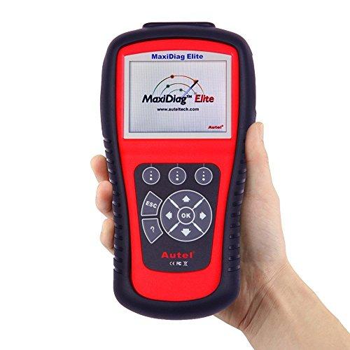 Autel Maxidiag Elite MD802 OBD / EOBD Scan Tool Vollständige System, unterstüzt Live-Daten, EPB Automatischer Diagnosescanner für Motor, ABS, Airbag, Automatikgetriebe, Ölservice-Reset