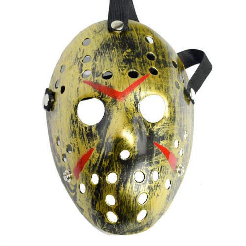 B-Creative Halloween Masken beängstigend Jason Voorhees Horror-Kostüm Blood -