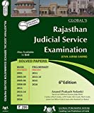 #7: Rajasthan Judicial Services Examination SOLVED PAPERS ( PRE + MAINS) 2017-18 ED (english med)