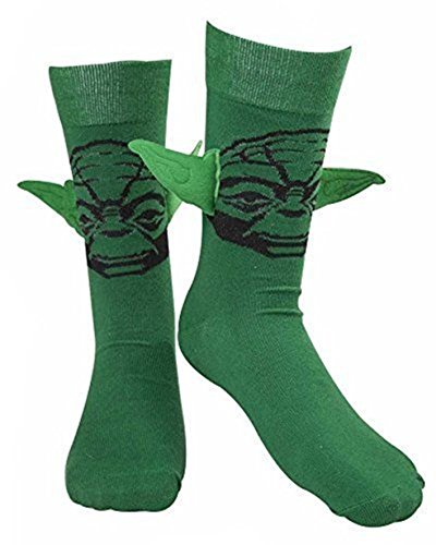 Star Wars Socken Yoda Größe 43-46 Floppy Ears Socks