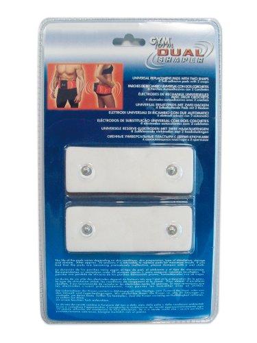 Gymform - GYMFORM09CAPTEUR - Kit Electrode Rechange pour Ceinture Dual Shaper