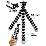 Tygot ABS Plastic Foldable Octopus Mini Gorilla Tripod Stand for Mobile Camera, DSLR, Smartphone and Action Cameras(13-inch)