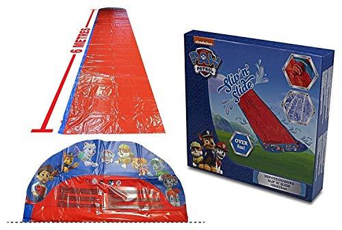Paw Patrol Slip and Slide Water Slide with Sprinklers 6m Long for Kids