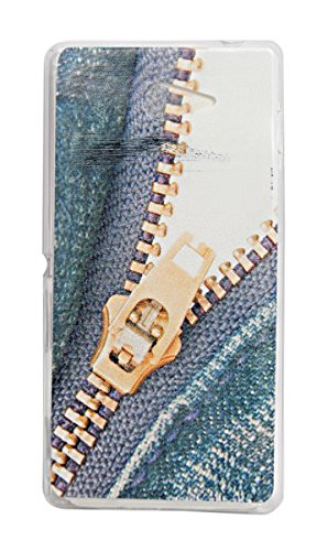ECellStreet Exclusive Transparent Printed Soft Back Case Cover Back Cover For Sony Xperia M2 - chain  available at amazon for Rs.154