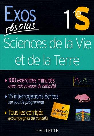 Sciences de la Vie et de la Terre 1e S