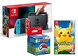 Nintendo Switch 32Gb Neon-Rot/Neon-Blau + Pokémon: Let´s Go, Pikachu! + Poké Ball Plus