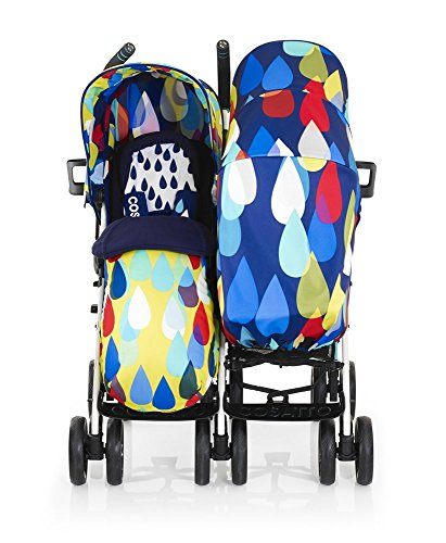 Cosatto To and Fro Duo Pitter Patter Carrito doble para gemelos.