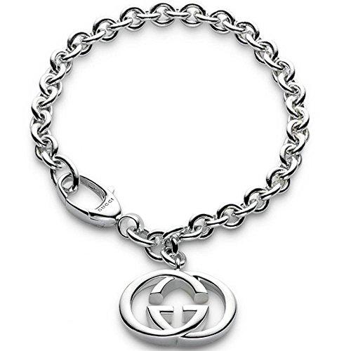 GUCCI Bracciale Silver Britt in argento, peso 20 g nuovo scatola garanzia YBA190501001