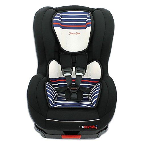 Autositz Isofix von 9bis 18kg mit Protektoren seitliche–Herstellung 100{ea4ad7055b673728270d2019d4fbdd123a874384f0947a6c697780203d1891f9} Französische–3Sterne Test TCS–32Farben–und Hörnchenkissen Sitzfläche gepolstert