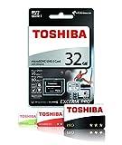 Toshiba Exceria Pro M401 Carte mémoire microSD Classe 10 32 Go