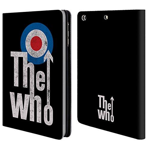 Head Case Designs Offizielle The Who Klassisches Target Logo Band Kunst Brieftasche Handyhülle aus Leder für iPad Mini 1 / Mini 2 / Mini 3