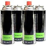 Pack de 6 cartouche gaz 230g butane mix bouteille de gaz baillonnette 410 ml bonbonne pour - Cartouche gaz cp 250 ...