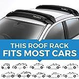 HandiRack - Barres de toit gonflables universils (noires) - porte-bagages de toit - Convient à la plupart des voitures