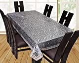 #10: Yellow Weaves Dining Table Cover Waterproof 3D Design 6 Seater 60x90 Inches