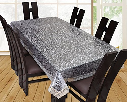 Yellow Weaves Dining Table Cover Waterproof 3D Design 6 Seater...