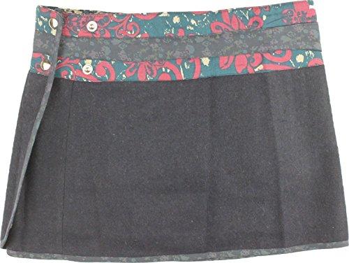 Moshiki Wickelrock Muffin Short Woolen I294