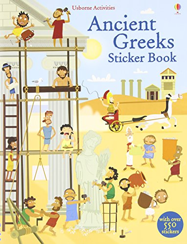 Ancient Greeks Sticker Book (Sticker Books) por Fiona Watt