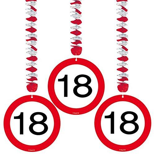 Verkehrsschild 18. Geburtstag ()
