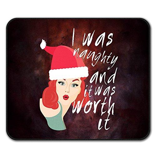 Frech Mädchen Weihnachten Sein Schlecht Nicht Unterhose Maus Polster 24cm x 20cm | Wellcoda (20 Familien Halloween Kostüm Ideen)
