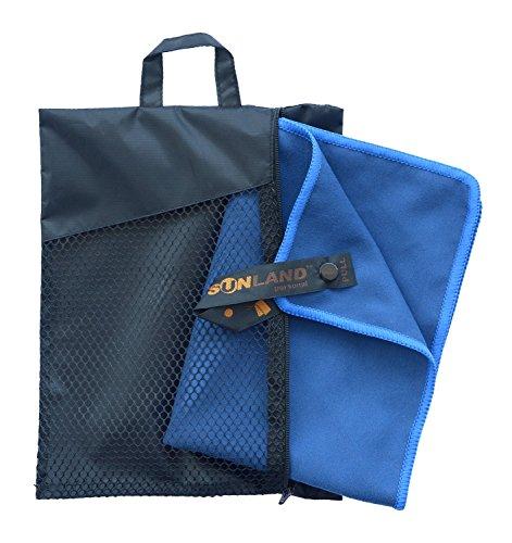 Sunland serviette microfibre compacte et Séchage Rapide serviette de plage , voyage , Sport et Camping