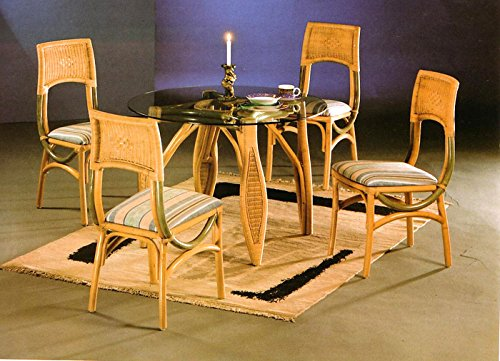 Cane World Styllish Cane Dining Set