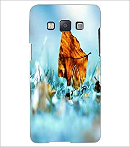 PrintDhaba Leaf D-2401 Back Case Cover for SAMSUNG GALAXY A5 (Multi-Coloured)