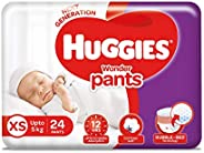 Huggies Wonder Pants Extra Small Size Diaper Pants, 24 Count