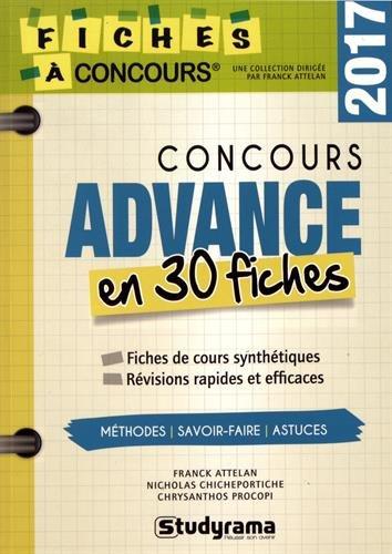 Concours advance en 30 fiches par Franck Attelan
