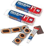 2 x Weldtite Puncture Repair kit 4 Road Bike Cycle 700c Inner Tubes