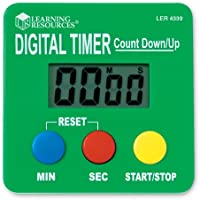 Learning Resources LER4339 Digital Timer Count Down-Up