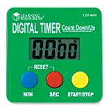 Learning Resources Recursos Did-cticos LER4339 Digital Timer Count Down-Up