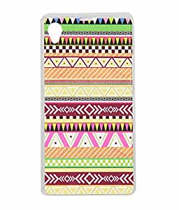 Exclusive Soft Silicone Rubberised Back Case Cover For Sony Xperia Z1 - Pattern Design 7