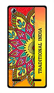 Lenovo A6000 Printed Back Cover