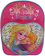 Disney Frozen Nordic Summer Heart Backpack, 7 Liters, Pink