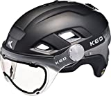 KED B-Vis Helmet Black Anthracite Kopfumfang M | 52-58cm 2018 Fahrradhelm
