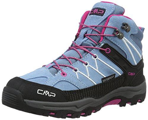 Mountain Warehouse Zapatillas Stampede para niños - Zapatillas de correr con suela de gran agarre, zapatillas impermeables, zapatillas de verano con empeine Lima 37