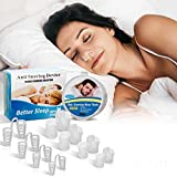 Dispositif Anti Ronflement,Anti Ronflement Dilatateur Nasal Anti-ronflement Bouchons Snore Stopper Anti Snoring Solution Anti Ronflement Nez Vents Stop Ronflement Dilatateurs Nasaux Aider à Dormir