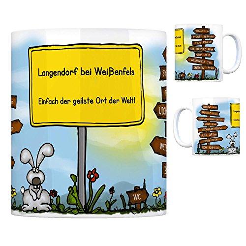 trendaffe - Langendorf bei Weißenfels - Einfach die geilste Stadt der Welt Kaffeebecher
