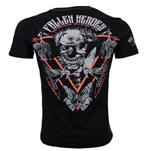 Yakuza Premium T-Shirt YPS 2507 Schwarz