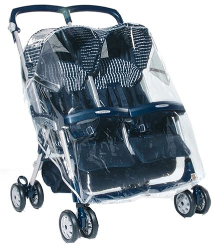 RAIN COVER ONLY. BRAND NEW PEG PEREGO ARIA TWIN PUSHCHAIR RAINCOVER