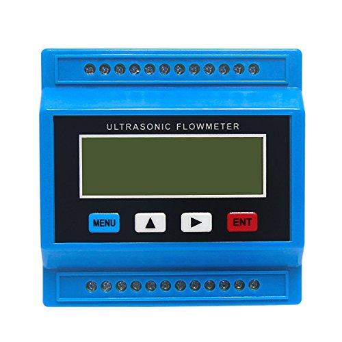 Wisamic TUF-2000M-TM-1 Digital Ultraschall Liquid Flow Meter Flowmeter für DN50-700mm Pipe Size -40 to 90¡æ -